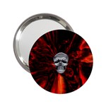 Skeleton in Blood Bath 2.25  Handbag Mirror