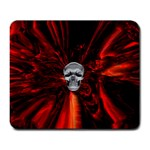 Skeleton in Blood Bath Large Mousepad