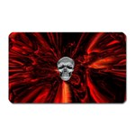 Skeleton in Blood Bath Magnet (Rectangular)