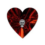 Skeleton in Blood Bath Magnet (Heart)