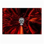 Skeleton in Blood Bath Postcard 4 x 6  (Pkg of 10)