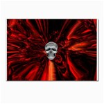 Skeleton in Blood Bath Postcards 5  x 7  (Pkg of 10)
