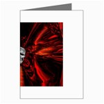 Skeleton in Blood Bath Greeting Card