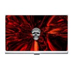 Skeleton in Blood Bath Business Card Holder
