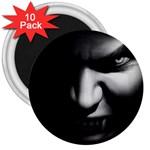 Vampire Fantasy in Black and White 3  Magnet (10 pack)