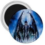 Demon Out of the Water 3  Magnet