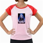 Demon Out of the Water Women s Cap Sleeve T-Shirt