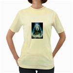 Demon Out of the Water Women s Yellow T-Shirt
