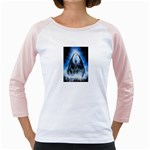Demon Out of the Water Girly Raglan