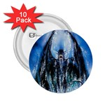 Demon Out of the Water 2.25  Button (10 pack)