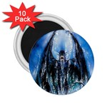 Demon Out of the Water 2.25  Magnet (10 pack)