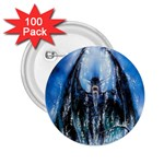 Demon Out of the Water 2.25  Button (100 pack)