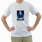 Demon Out of the Water White T-Shirt