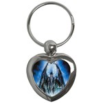 Demon Out of the Water Key Chain (Heart)