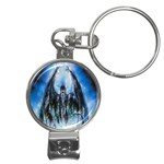 Demon Out of the Water Nail Clippers Key Chain