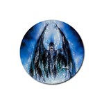 Demon Out of the Water Rubber Round Coaster (4 pack)
