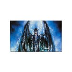 Demon Out of the Water Sticker (Rectangular)