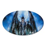 Demon Out of the Water Magnet (Oval)