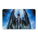 Demon Out of the Water Magnet (Rectangular)