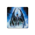 Demon Out of the Water Magnet (Square)