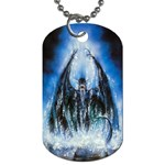 Demon Out of the Water Dog Tag (One Side)