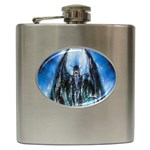 Demon Out of the Water Hip Flask (6 oz)