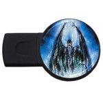Demon Out of the Water USB Flash Drive Round (2 GB)
