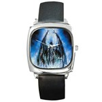 Demon Out of the Water Square Metal Watch