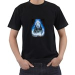Demon Out of the Water Black T-Shirt