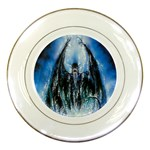Demon Out of the Water Porcelain Plate