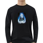 Demon Out of the Water Long Sleeve Dark T-Shirt