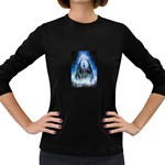 Demon Out of the Water Women s Long Sleeve Dark T-Shirt