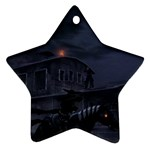 Demon Horseman at Night Ornament (Star)