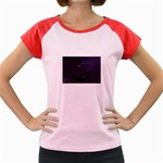 Demon Horseman at Night Women s Cap Sleeve T-Shirt