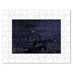 Demon Horseman at Night Jigsaw Puzzle (Rectangular)