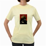 American Gothic Vampire Women s Yellow T-Shirt