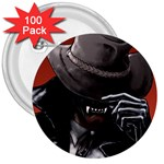 American Gothic Vampire 3  Button (100 pack)