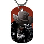 American Gothic Vampire Dog Tag (One Side)