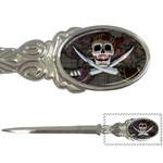 Pirate Flag Skull and Treasure Map Letter Opener