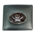 Pirate Flag Skull and Treasure Map Wallet