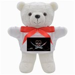 Pirate Flag Skull and Treasure Map Teddy Bear