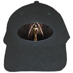 Goth Angel Black Cap