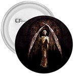 Goth Angel 3  Button
