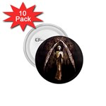 Goth Angel 1.75  Button (10 pack)