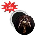 Goth Angel 1.75  Magnet (10 pack)