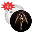 Goth Angel 2.25  Button (10 pack)