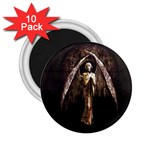 Goth Angel 2.25  Magnet (10 pack)