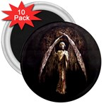 Goth Angel 3  Magnet (10 pack)