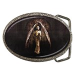Goth Angel Belt Buckle