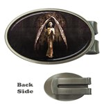 Goth Angel Money Clip (Oval)